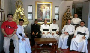 Fr Carlos Reyes, the secretary of the Episcopal Commission for Inter-religious Dialogue, visited on November 18 the priory in Manila in order to meet with Fr Nely, second assistant to Bishop Fellay, and also with the priests of the priory. They hoped to achieve this goal:  To develop cordial ties with this group, along the same lines as the September meeting held in the Vatican, and to reach full communion with the Church. Several canonical solutions were raised.